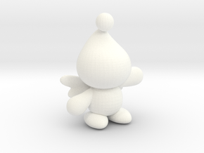 Chao in White Processed Versatile Plastic