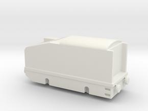 alvf ww1 armoured loco 1/144 in White Natural Versatile Plastic