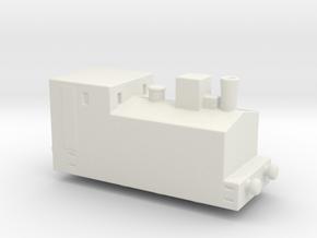 alvf ww1 armoured loco steam 1/200 in White Natural Versatile Plastic