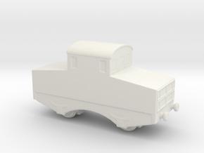 alvf ww1 armoured loco 1/285 6mm in White Natural Versatile Plastic