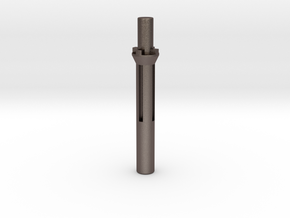 Kwc Uzi Nozzle Airsoft in Polished Bronzed-Silver Steel