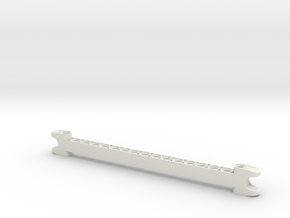 super long 2008 and 2009 Upper Limb Piece in White Natural Versatile Plastic