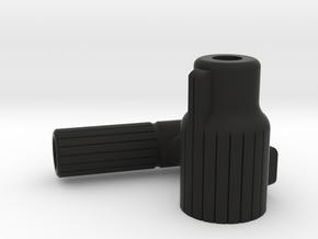 Straight PullBolt - VSR and Copies [Left Handed] in Black Natural Versatile Plastic