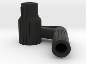 Straight PullBolt - VSR and Copies [Right Handed] in Black Natural Versatile Plastic