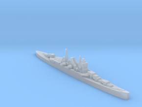 IJN Kumano cruiser 1:1800 WW2 in Smoothest Fine Detail Plastic