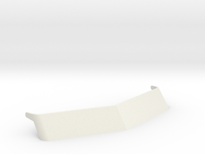 1/16 scale Peterbilt 379 Visor in White Natural Versatile Plastic