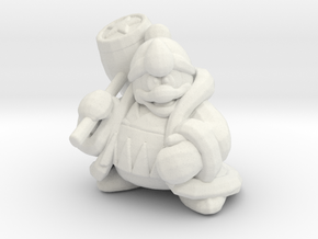 King Dedede 1/60 miniature for games and rpg in White Natural Versatile Plastic