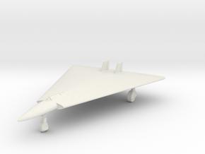 (1:144) Horten Ho 13 C in White Natural Versatile Plastic