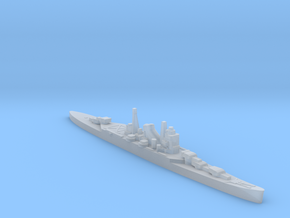 IJN Kumano cruiser 1940 1:3000 WW2 in Smoothest Fine Detail Plastic
