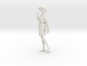 1/10 Student in Uniform Ami in White Natural Versatile Plastic