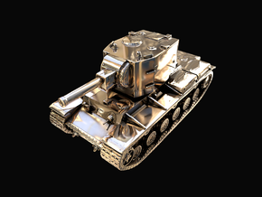 Tank - KV-2 - size Large in 14K Yellow Gold