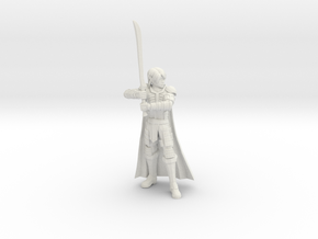 Elf Champion in White Natural Versatile Plastic