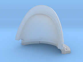 Mini Knight - Imperial Style Shoulder Pad in Smoothest Fine Detail Plastic