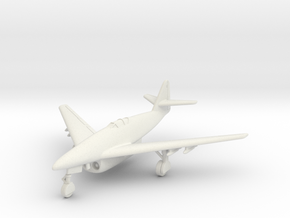 (1:144) Messerschmitt Me 262 DFS design (11/42) in White Natural Versatile Plastic