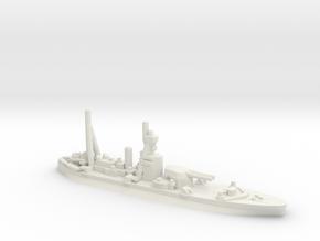 British Roberts-Class Monitor in White Natural Versatile Plastic
