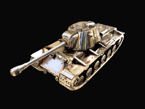 Tank - KV-3 - size Large in 14K Yellow Gold