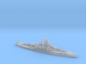 US Nevada-Class Battleship in Smooth Fine Detail Plastic