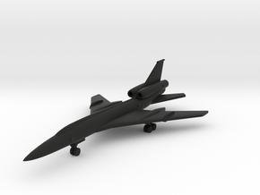 Tupolev Tu-22 Blinder in Black Natural Versatile Plastic: 1:500