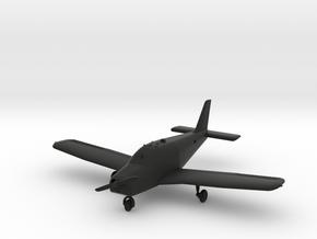 Piper PA-28-140 Cherokee in Black Natural Versatile Plastic