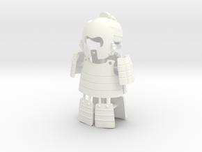 ASHIGARU ARMOUR 2.2  in White Processed Versatile Plastic