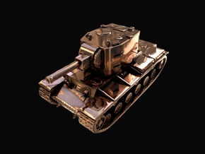 Tank - KV-2 - size Small in Polished Bronze