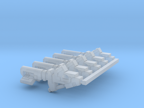 Cyclic Ion Blaster 5pc in Smooth Fine Detail Plastic