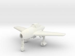 (1:144) Messerschmitt Me 334 (Turbojet powered) in White Natural Versatile Plastic