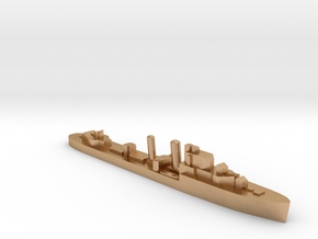HMS Icarus destroyer 1:2400 WW2 in Natural Bronze