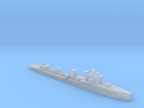 Italian Ostro destroyer WW2 1:1800 in Smoothest Fine Detail Plastic