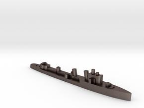 Italian Ostro destroyer WW2 1:2400 in Polished Bronzed-Silver Steel