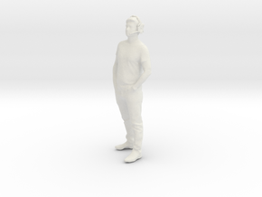 Printle C Homme 2000 - 1/24 - wob in White Natural Versatile Plastic