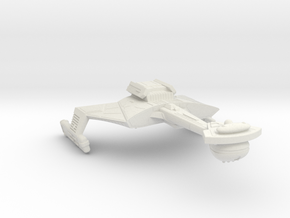 3788 Scale Klingon C7VK Refitted Battle Carrier WE in White Natural Versatile Plastic