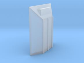 merritt front end cap  in Smooth Fine Detail Plastic: 1:64 - S