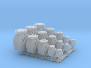 3X 5 Tank vent check valve - 1:50 in Smooth Fine Detail Plastic