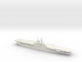 USS Wasp (CV-7) in White Natural Versatile Plastic: 1:1800