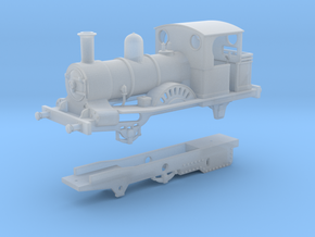 London & Blackwall Railway 2-2-2WT (Modernised) in Smooth Fine Detail Plastic