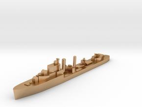 HMS Ivanhoe destroyer 1:1200 WW2 in Natural Bronze