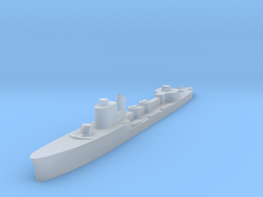 Italian Altair Torpedo boat 1:1800 WW2 in Smoothest Fine Detail Plastic