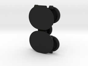Ford Probe Window Wiper Cowl Caps in Black Natural Versatile Plastic