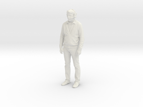 Printle C Homme 2011 - 1/24 - wob in White Natural Versatile Plastic