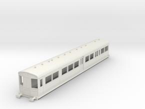 0-87-gcr-railcar-conv-pushpull-coach in White Natural Versatile Plastic