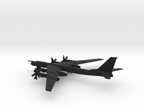 Tupolev Tu-95MS Bear-H in Black Natural Versatile Plastic: 1:600