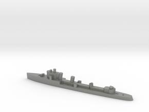 Italian Zeffiro destroyer WW2 1:1800 in Gray PA12