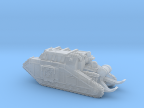 Dracosan Flamer with Trench Skid in Smooth Fine Detail Plastic