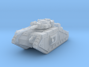 King Russ tank with Trenchskids in Smooth Fine Detail Plastic