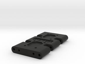 Center Skid for Gen 7 Skid with Mirror Option in Black Natural Versatile Plastic