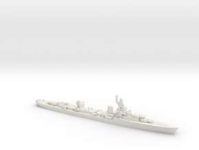 French Cruiser Emile Bertin 1945 in White Natural Versatile Plastic