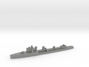 Italian Euro destroyer WW2 1:1800 in Gray PA12