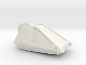1:72 Work Bee V1 in White Natural Versatile Plastic