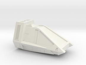1:72 Work Bee Tug in White Premium Versatile Plastic